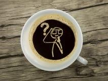 Café a aprender na noite Imagens de Stock