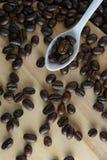 Café asado Foto de archivo