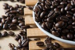Café asado Imágenes de archivo libres de regalías