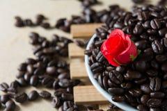Café asado Fotografía de archivo libre de regalías