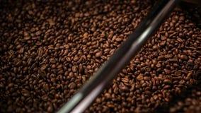 Café asado de mezcla almacen de video