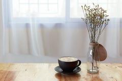 Café atrasado Fotografia de Stock