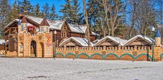 Café au parc de Gorki à Kharkov Image stock