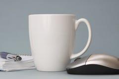 Café au travail images libres de droits
