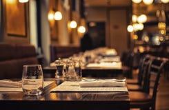 Café auf Briten Stockfotografie