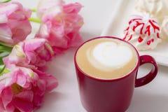 Café avec amour Images stock
