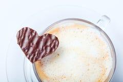 Café avec amour Image libre de droits