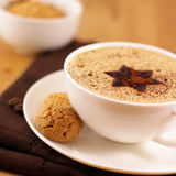 Café avec de la mousse crème photos libres de droits