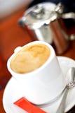 Café avec du lait photo libre de droits