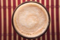 Café avec du lait Images stock