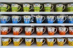 Café avec la couleur brillante Images libres de droits