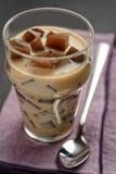 Café avec la gelée photos stock