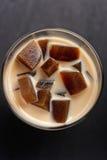 Café avec la gelée photo libre de droits