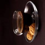 Café avec le biscotti image libre de droits