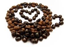 Café avec le coeur Images libres de droits