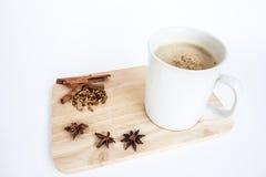 Café avec un jour occasionnel images stock