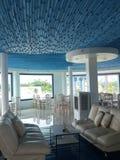 Café azul Fotografia de Stock Royalty Free