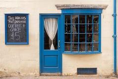 Café azul, Inglaterra Fotografia de Stock