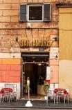 30 04 2016 - Café/barra em Roma Imagem de Stock Royalty Free