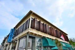 Café Batavia - Jakarta Indonesien lizenzfreie stockbilder