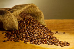 Café beans_3 Foto de archivo