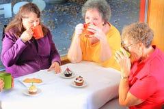 Café bebendo fotografia de stock