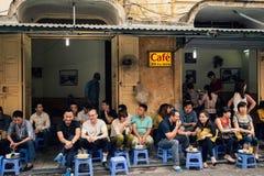 Café bebendo Imagem de Stock