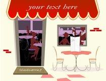 Café bem-vindo Fotografia de Stock