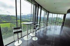 Café an Bergisel-Hügel Lizenzfreie Stockbilder