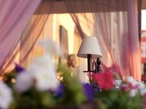 Café bonito do verão Imagem de Stock Royalty Free