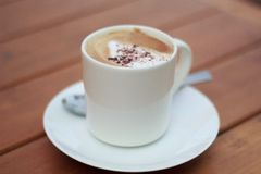 Café bonjour photo libre de droits