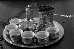 Café bosnien Image libre de droits