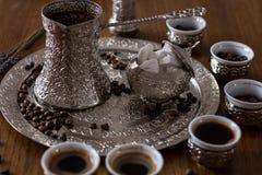 Café bosnien Images libres de droits