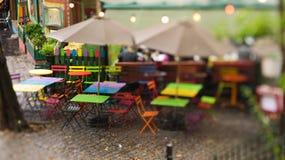 Café célèbre sur Montmartre Photos stock