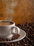 Café caliente Fotos de archivo