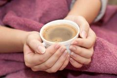 Café caliente Imágenes de archivo libres de regalías