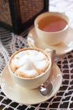 Café caliente imagen de archivo