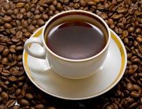 Café caliente Fotografía de archivo libre de regalías