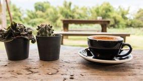Café caliente Foto de archivo