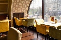 Café calmo da manhã Fotografia de Stock Royalty Free