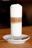 Café. Cappuccino. Tasse de cappuccino Image libre de droits