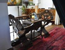 Café Casablancas Ricks Lizenzfreie Stockfotografie