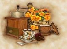 Café-cassez Photographie stock libre de droits