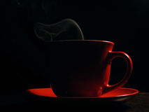 Café chaud Images libres de droits