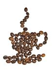 Café chaud Image libre de droits