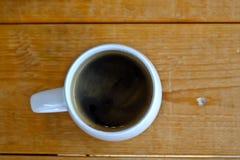 Café chaud d'americano Images libres de droits