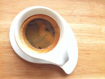 Café chaud de café express Image stock