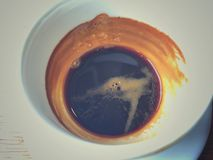 Café chaud de café express Image libre de droits