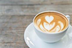 Café chaud de latte image stock
