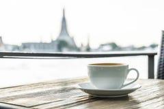 Café chaud de latte photographie stock libre de droits
